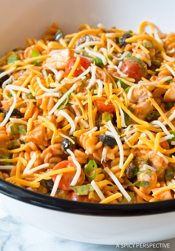 Cool Chicken Taco Pasta Salad A Spicy Perspective