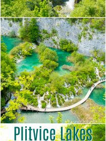 Natural Wonder Plitvice Lakes National Parks in Croatia - Must See! #travel