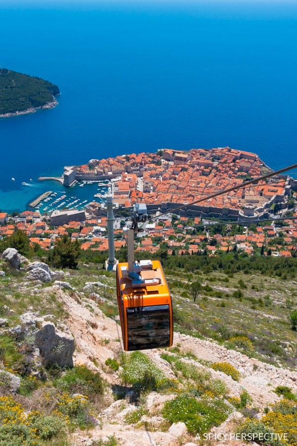 Cable Car - Best Things To Do In Dubrovnik, Croatia #travel #bucketlist
