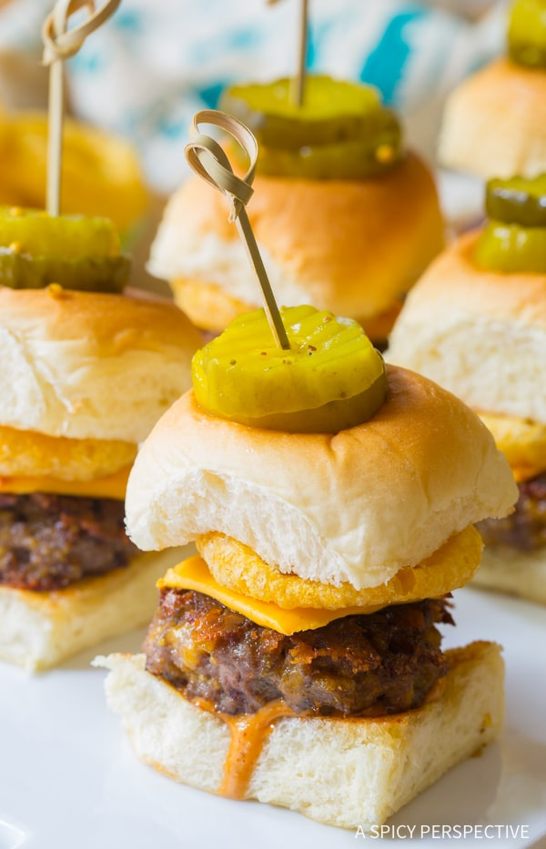Fun indeed! Funyuns Sliders Recipe