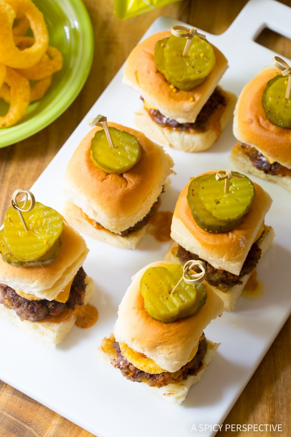 Crazy over this Funyuns Sliders Recipe