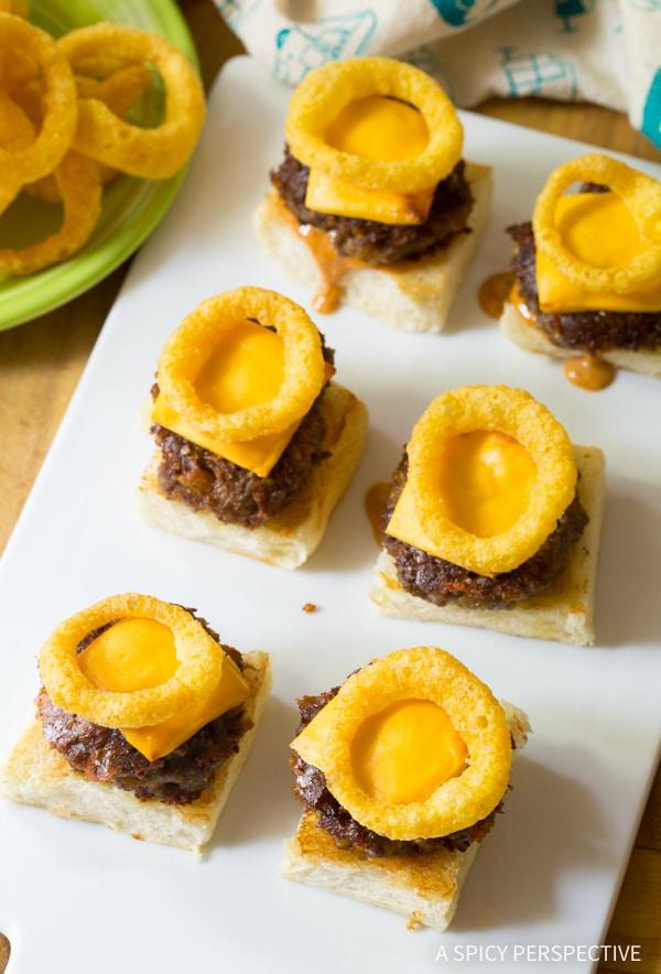 Perfect Funyuns Sliders Recipe