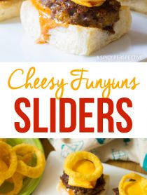 Fun Cheesy Funyuns Sliders Recipe