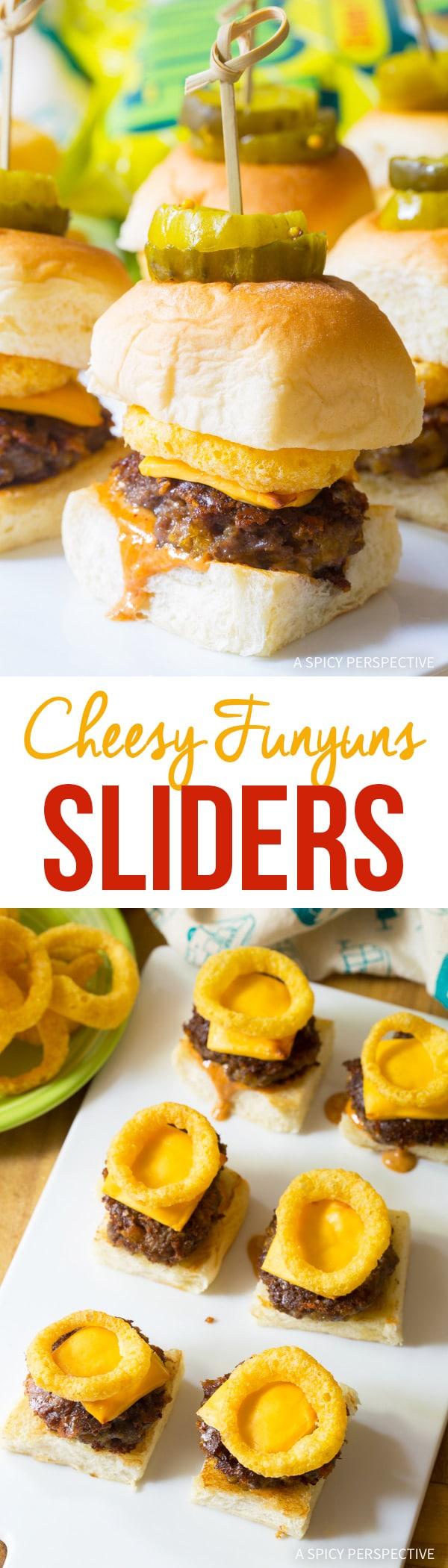Fun Cheesy Funyuns Sliders Recipe