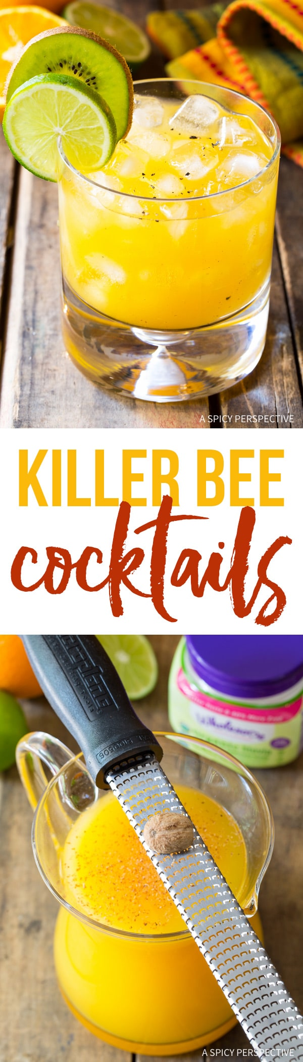 Killer Bee Cocktail With Black Pepper & Nutmeg Recipe ...