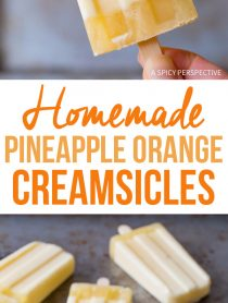 4-Ingredient Homemade Pineapple Orange Creamsicle Recipe