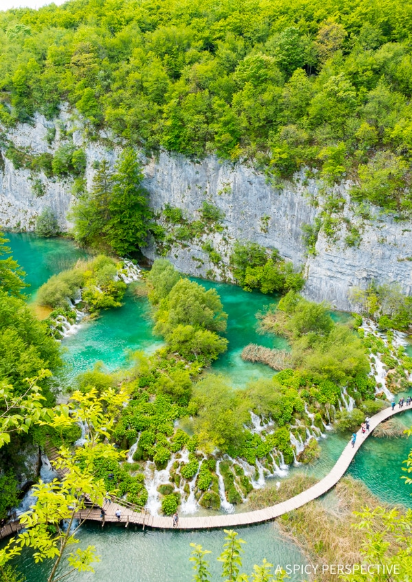 Dazzling Plitvice Lakes National Parks in Croatia - Must See! #travel