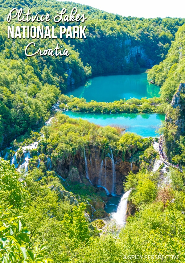 Berühmt Plitvice Lakes National Park - A Spicy Perspective #AC_55