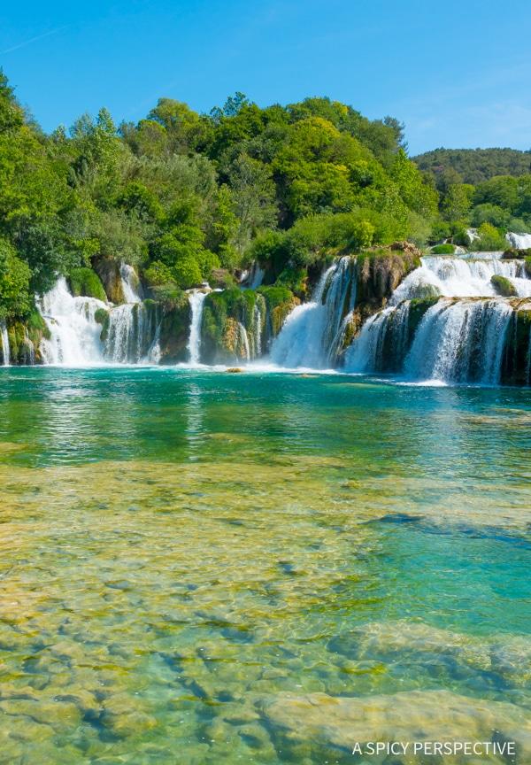 Krka National Parks in Croatia - Must See! #travel