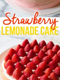Perfect Fresh Strawberry Lemonade Cake Recipe