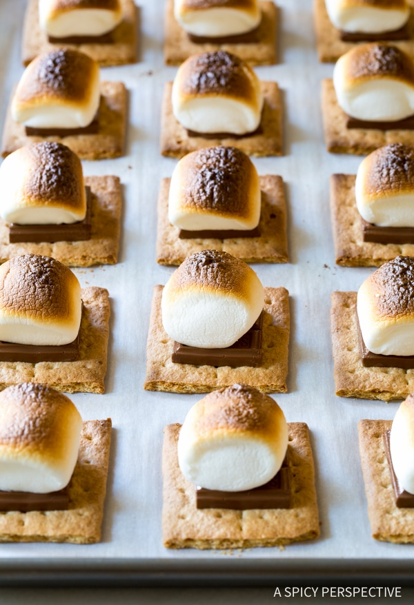 How To: Easy Sheet Pan S'mores Recipe