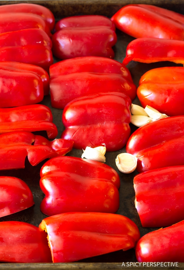 Making Roasted Red Pepper Marinara Recipe (Vegan, Gluten Free & Delicious!)