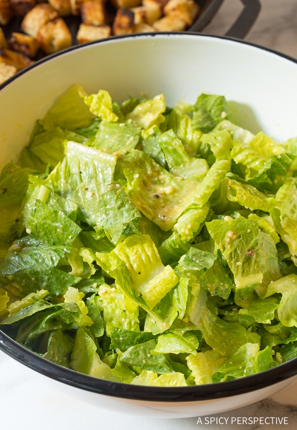 Best Caesar Salad Recipe Ever!