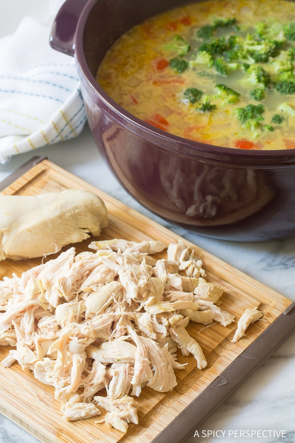 Easy Low Carb Green Curry Chicken Noodle Soup Recipe (Paleo & Ketogenic)