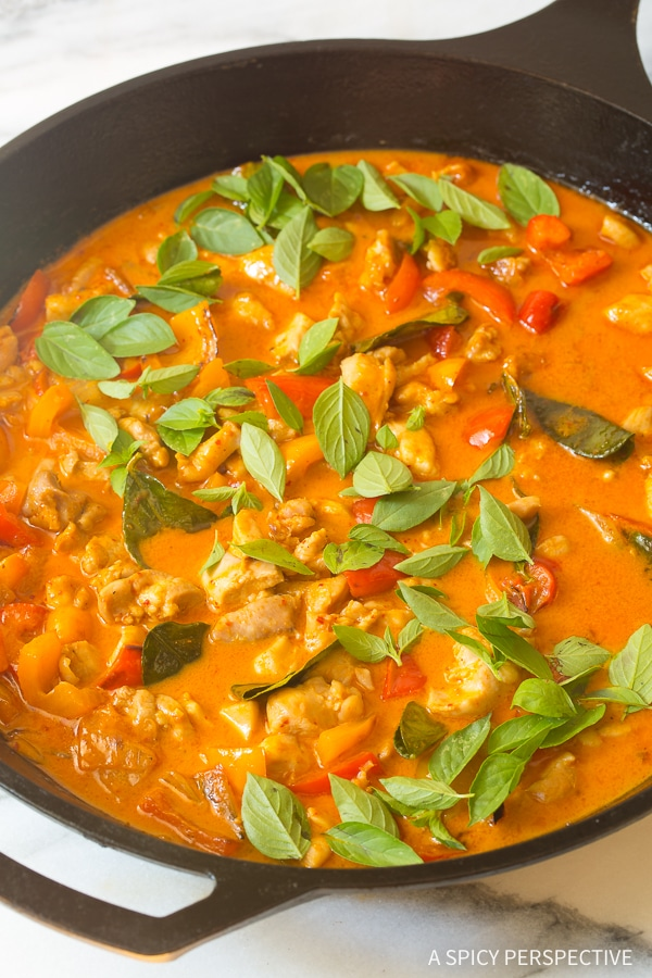 Our Best Thai Panang Chicken Curry Recipe