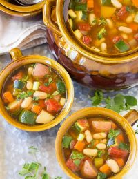 Tomato Potato White Bean Soup Recipe