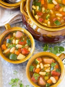 Tomato Potato White Bean Soup Recipe