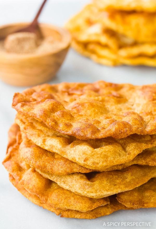 Sweet or Savory - Easy Navajo Fry Bread Recipe