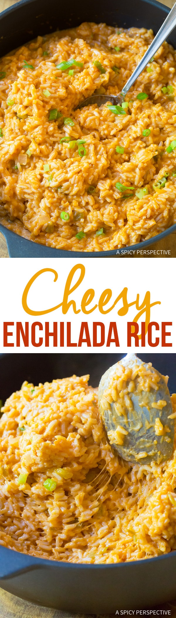Perfect Cheesy Enchilada Rice Recipe