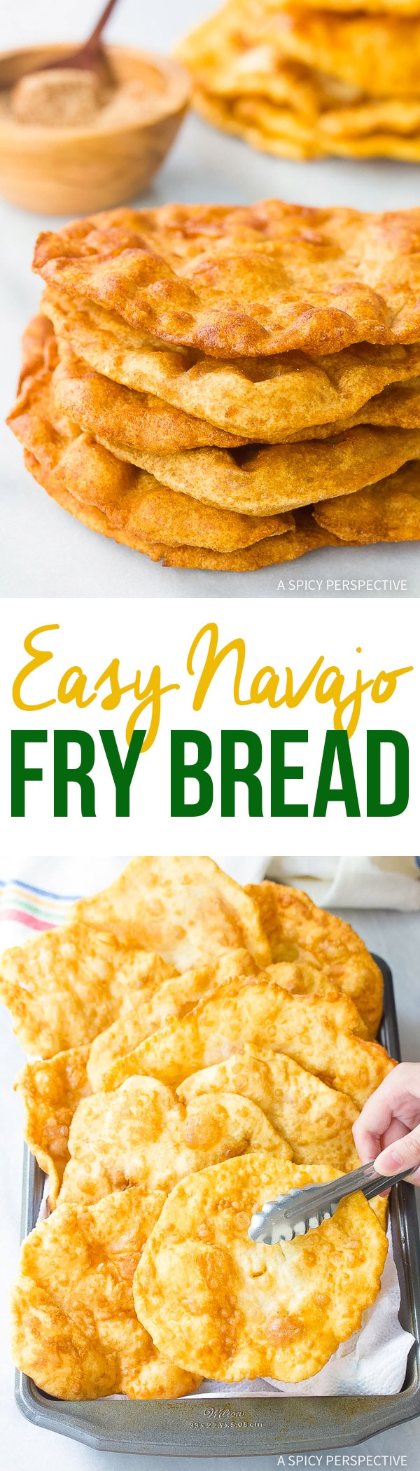 Easy Navajo Fry Bread Recipe - Sweet or savory!