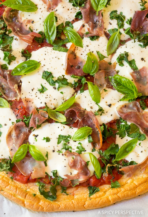 The Best Low Carb Cloud Bread Pizza