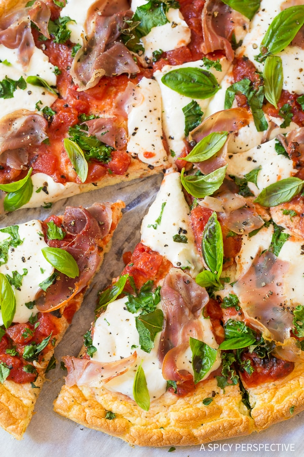 Perfection! Low Carb Cloud Bread Pizza