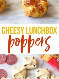 Easy Cheesy Lunchbox Poppers Recipe