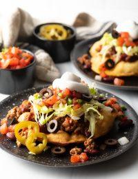 Best Navajo Tacos (+ Fry Bread Recipe)