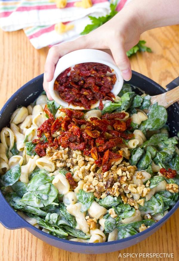 Perfect One-Pot Spinach Ricotta Pasta Recipe