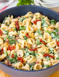 One-Pot Spinach Ricotta Pasta Recipe