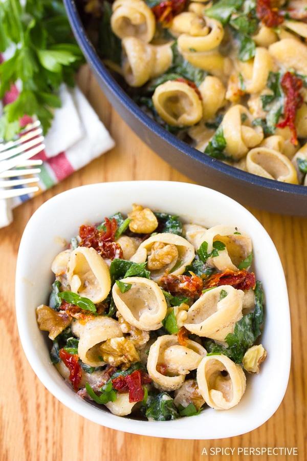 Best One-Pot Spinach Ricotta Pasta Recipe