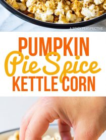 Perfect Pumpkin Pie Spice Kette Corn Recipe