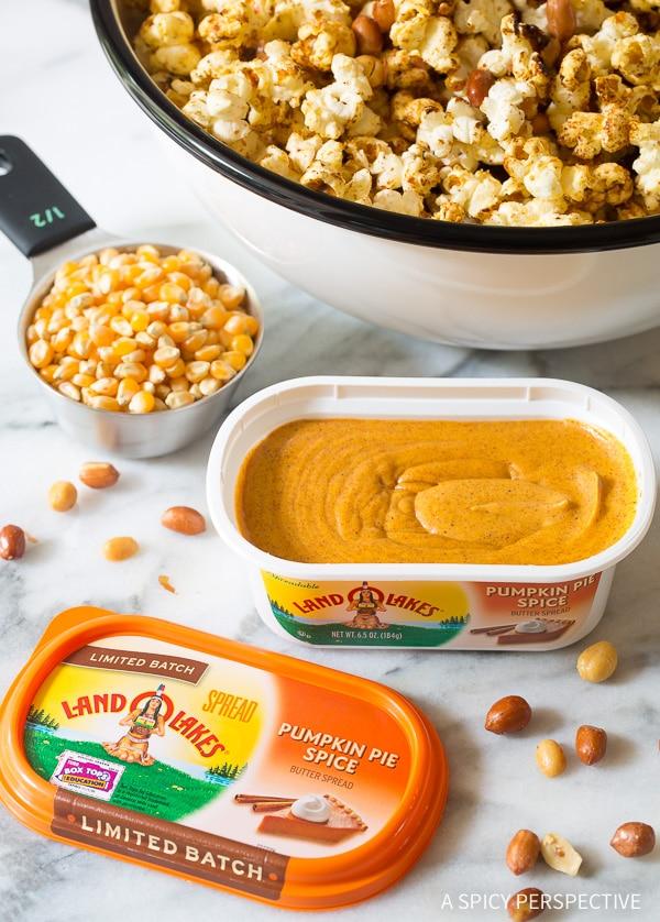 Festive Pumpkin Pie Spice Kette Corn Recipe