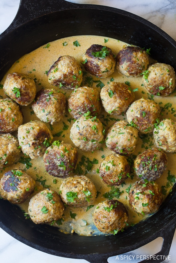 Best Saucy Greek Lemon Meatballs (Keftedes) Recipe