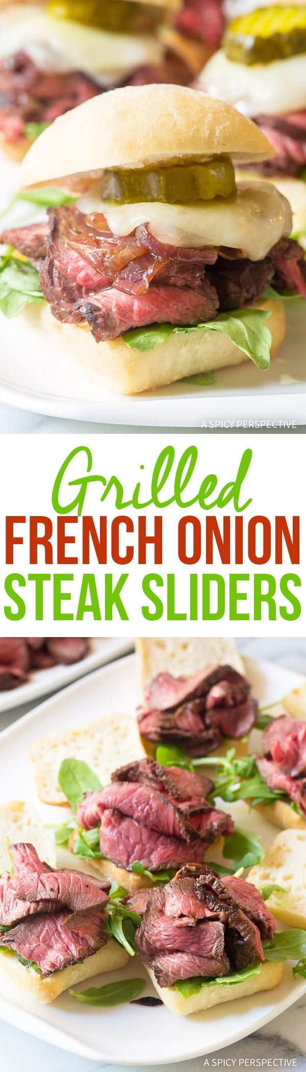 Amazing Grilled French Onion Steak Sliders Recipe
