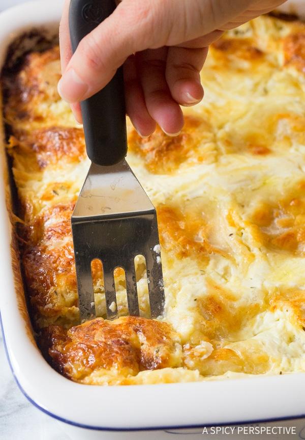 Rich Croatian Cheese Strukli Recipe