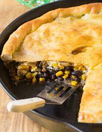 Skillet Taco Calzone Pie Recipe