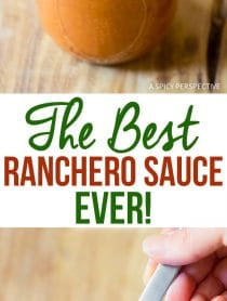 The Best Ranchero Sauce Recipe Ever!