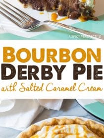 Best Bourbon Derby Pie with Salted Caramel Whipped Cream Recipe