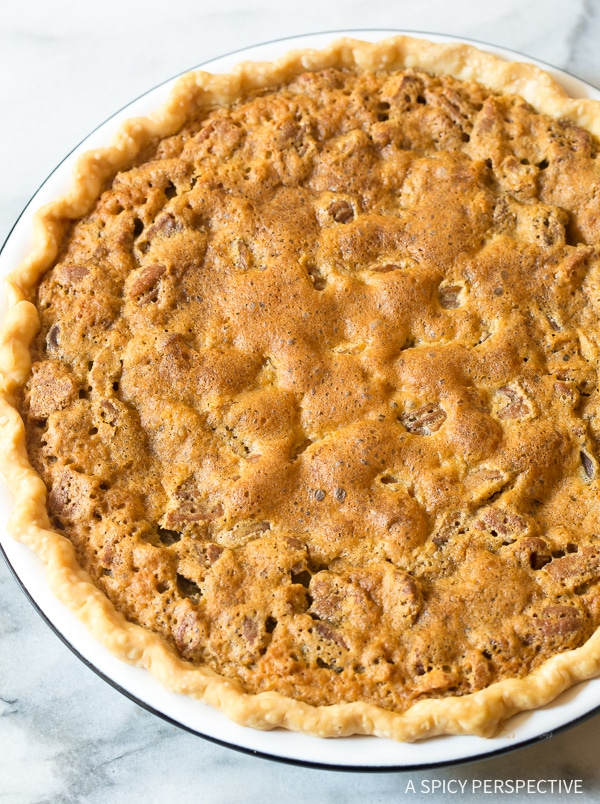 Easy Bourbon Derby Pie with Salted Caramel Whipped Cream Recipe