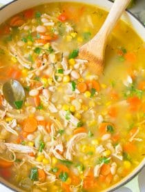 Healthy Chicken White Bean Soup Recipe