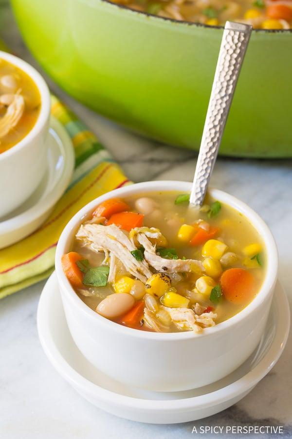 Best Healthy Chicken White Bean Soup Recipe