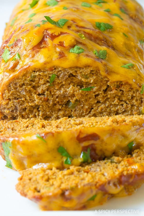 Easy Mexican Crockpot Meatloaf Recipe