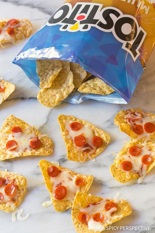 Mini Pizza Chips Recipe