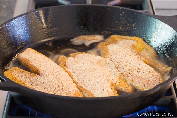 How to Make: Pan Fried Tilapia Southwest Skillet Recipe