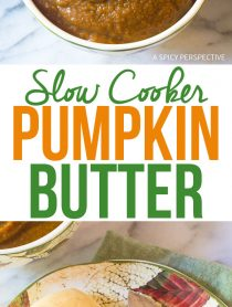 Slow Cooker Pumpkin Butter Recipe for the Holidays!