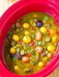 Slow Cooker Potato Curry Recipe (Vegetarian!)