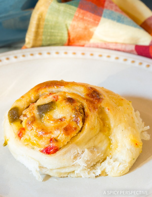 Easy Zesty Prosciutto Cheese Rolls Recipe