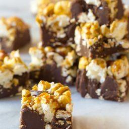 3-Ingredient Cracker Jack Fudge Recipe