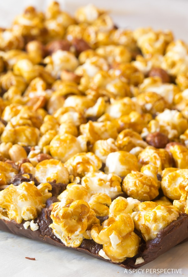 Crunchy 3-Ingredient Cracker Jack Fudge Recipe